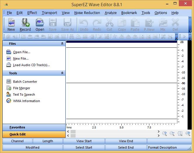 SuperEZ Wave Editor