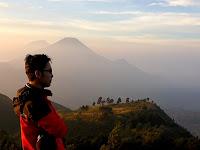 jalur pendakian gunung prau via dieng, disertai estimasi waktu