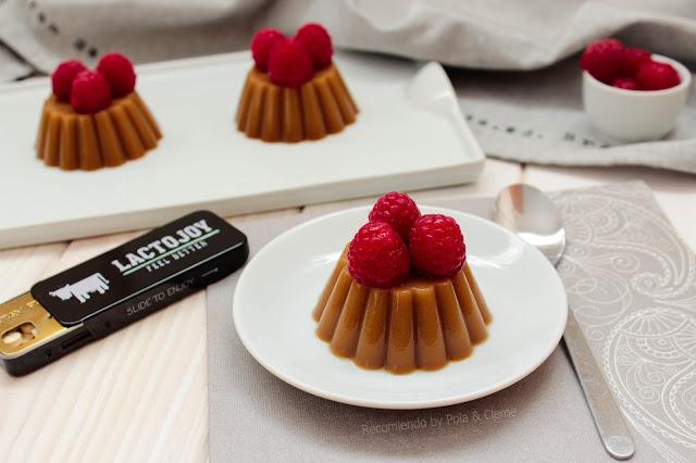 Receta de Flan de Caramelo sin lactosa