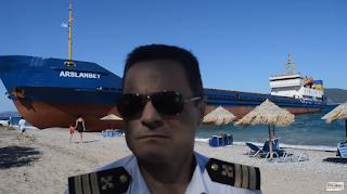 Μεθυσμένος πλοίαρχος στην Εύβοια «άραξε» το πλοίο του σε παραλία δίπλα στις ξαπλώστρες