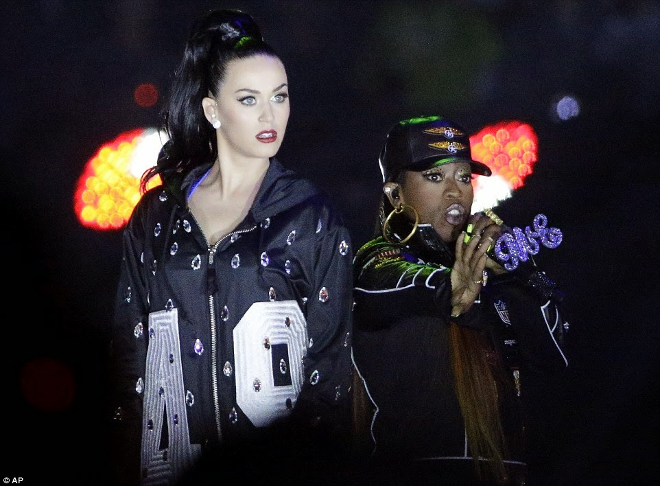 Katy Perry – Superbowl XLIX Halftime Show