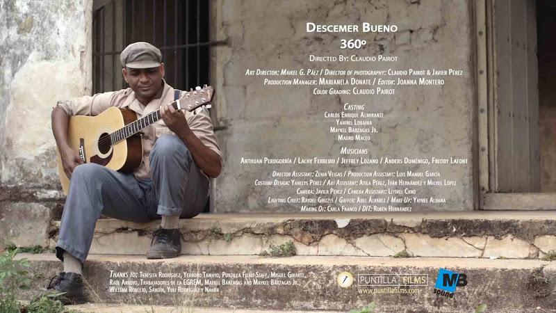 Descemer Bueno - ¨360 grados¨ - Videoclip - Dirección: Claudio Pairot. Portal Del Vídeo Clip Cubano
