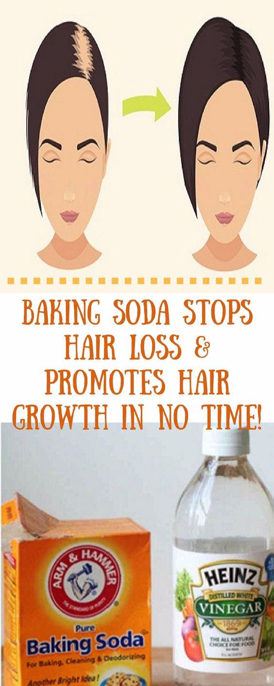 Baking Soda Stops Hair Loss Promotes Hair Growth In No Time Health Blog