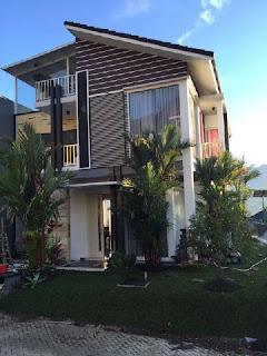 Villa di Batu Malang Fasilitas Kolam Renang | Villa Batu Palem