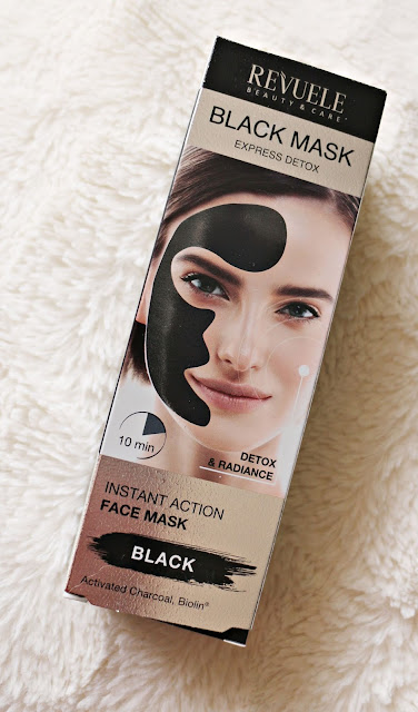 Revuele Black Mask Instant Action Mask