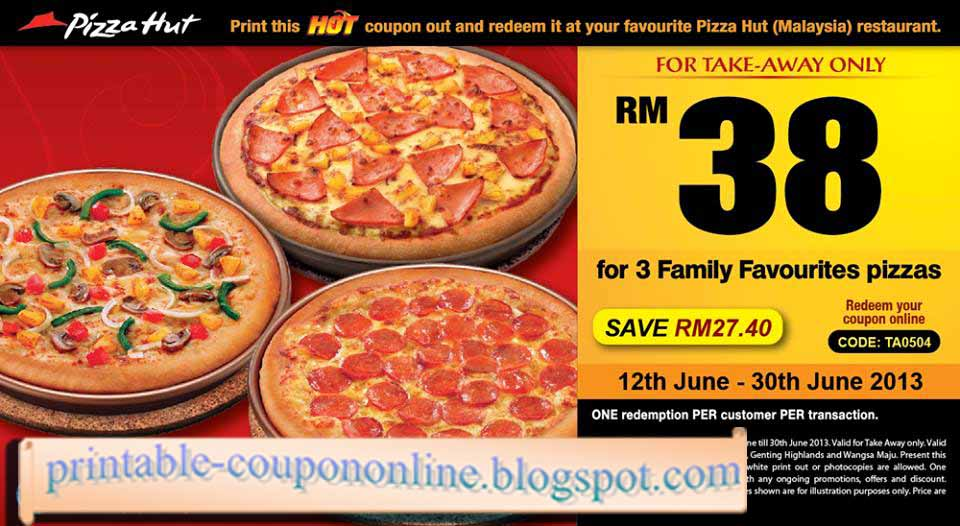 Pizza hut online coupon code