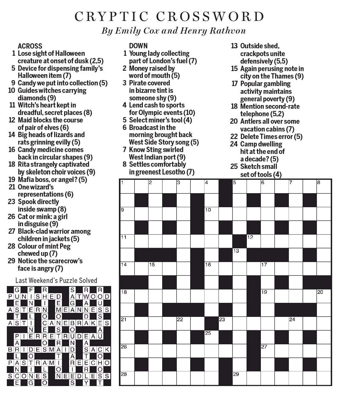 National post cryptic crossword forum october 2017 introduction buycottarizona Image collections