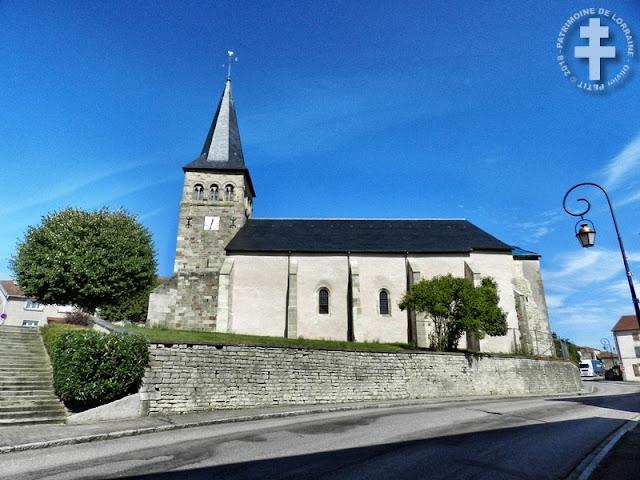 REMONCOURT (88) - Eglise Saint-Remi (XIIe-XVIIe siècles)(Extérieur)