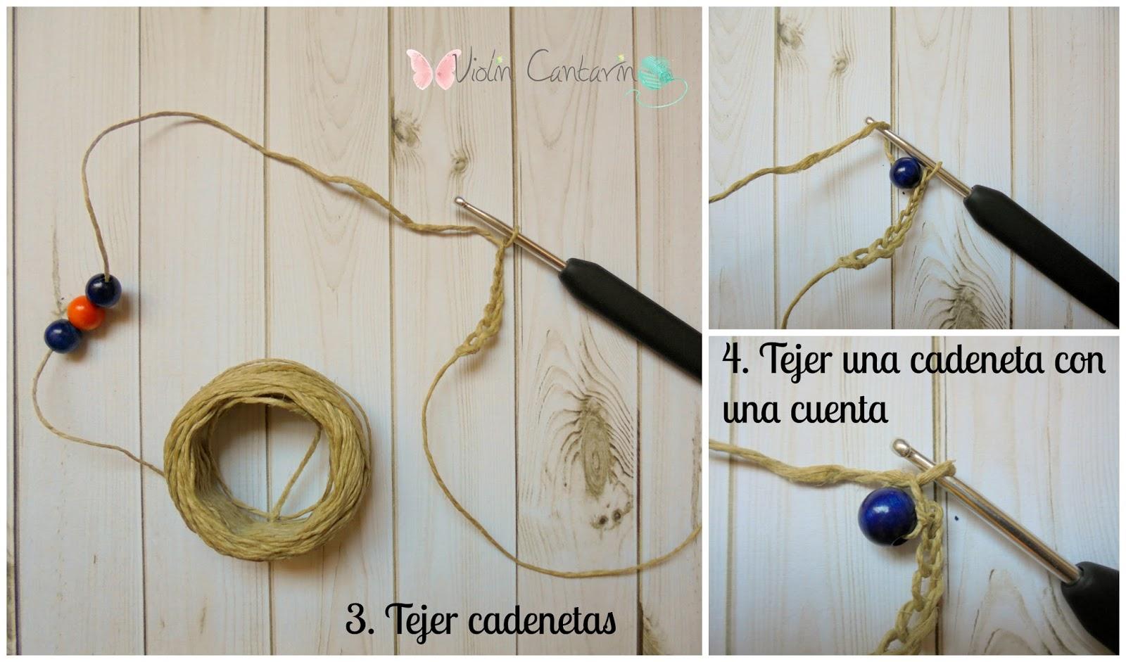 Puntos Básicos de Crochet: Nudo de Inicio y Cadeneta + Tutorial ...