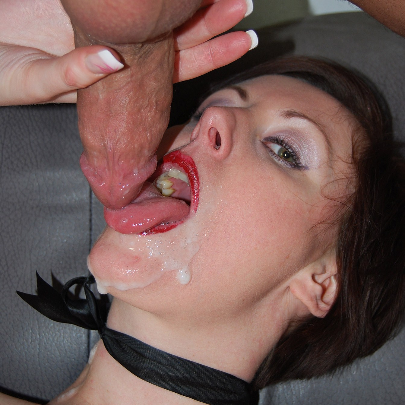 Mouths of cum