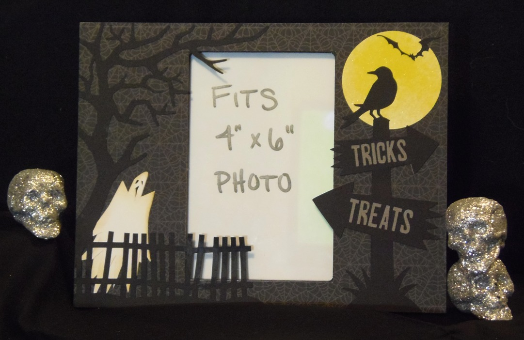 Craft With Bee Halloween Picture Frame