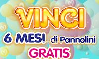 Logo Vinci 6 mesi di pannolini Pampers gratis