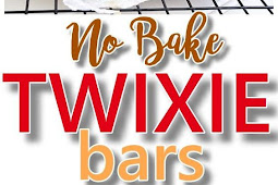 Twixie Bars - No Bake Dessert Treats