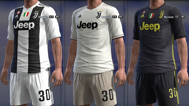 buy popular 25a52 4e337 PES 2013 Juventus Full GDB Kits 2018-2019 - Micano4u | PES ...