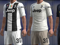 PES 2013 Juventus Full GDB Kits 2018-2019