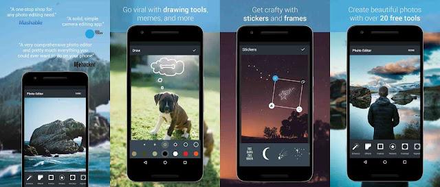 تطبيق خرافي لتعديل الصور على الاندويد