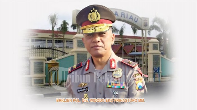 Kapolda Riau Resmi Naik Pangkat Menjadi Irjen