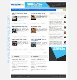 Mas Sugeng Blogger Template 2015
