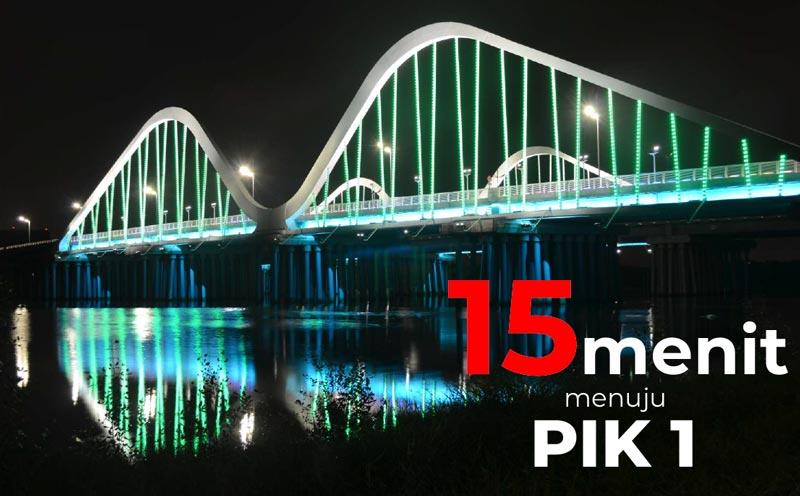 Jembatan PIK 2 Selesai Mei 2020