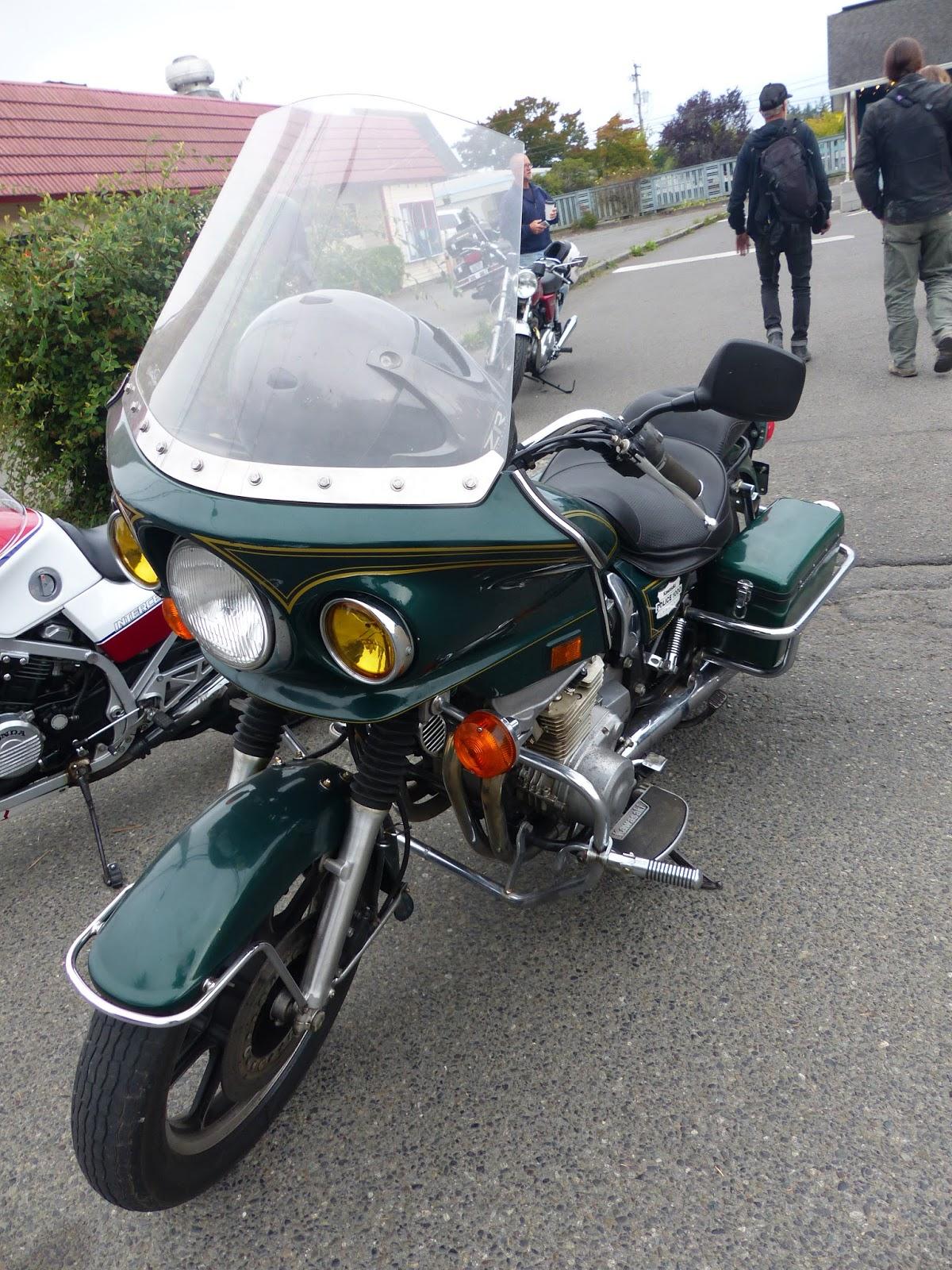 Review of Kawasaki KZ 1000 Police KZ 1000 Police: pictures