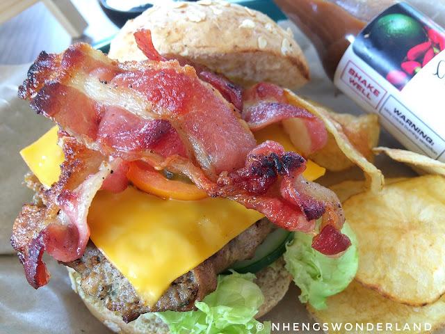 Dong Juan Ultimate Bacon Burger - Dong Juan - Lamp Quarters Marikina