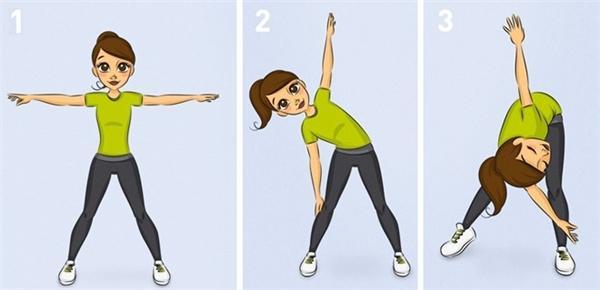 10 bài tập mỗi ngày giúp sức khỏe tốt hơn