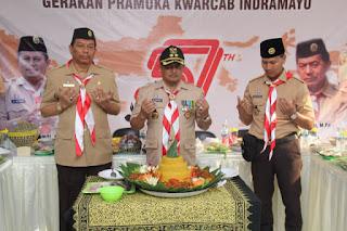 "Wakil Bupati Indramayu  ""Pramuka Perekat NKRI dan Rumah Kita Bersama"""