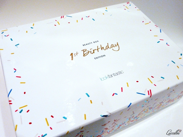 1st Birthday  Lookfantastic Box