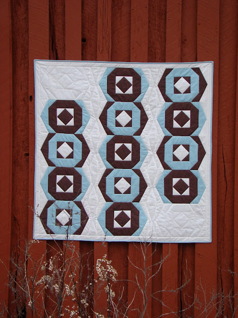 EvaPaige Quilt Designs Hexies a la Mode pattern