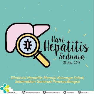 Hari Hepatitis Sedunia, Ayo Eliminasi Hepatitis Dari Diri Sendiri