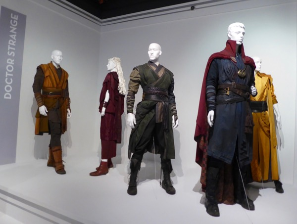 Doctor Strange movie costume exhibit