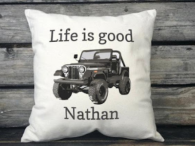 Jeep Pillow