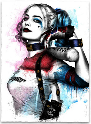 "Suicide Squad ""Harley"" Screen Print by Mr. Brainwash"