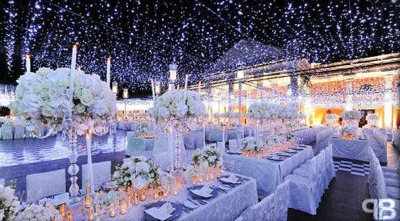 Blue Wedding Reception Decorations Ideas | Wedding-
