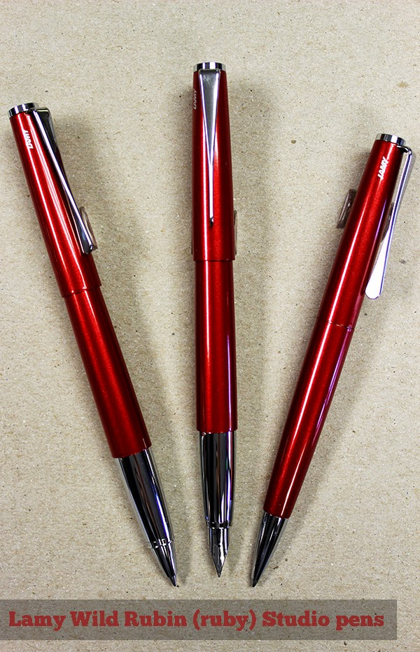 Lamy Wild Rubin Studio Pens