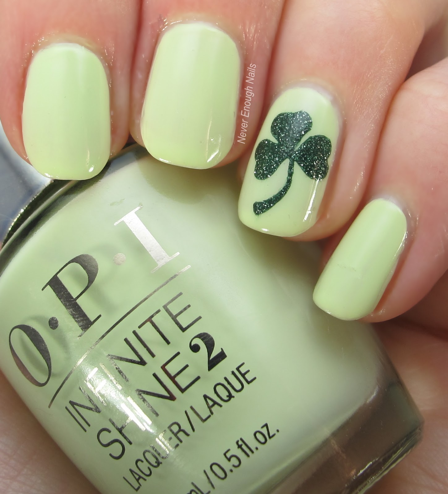 Never Enough Nails: First St. Patrick\'s Day Mani of 2018!