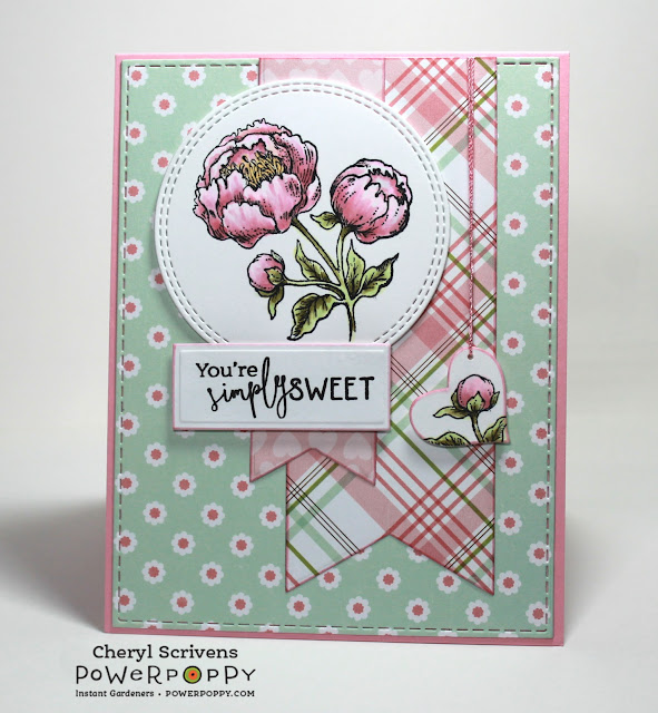 Power Poppy, Marcella Hawley, Soothing Sympathy, Simply Camellias, PageMaps, CherylQuilts, Designed by Cheryl Scrivens, January 2018