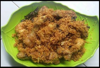 Resep dan Cara Membuat Ayam Goreng Serundeng