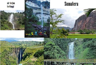 5 Objek Wisata Air Terjun Tertinggi di Sumatera