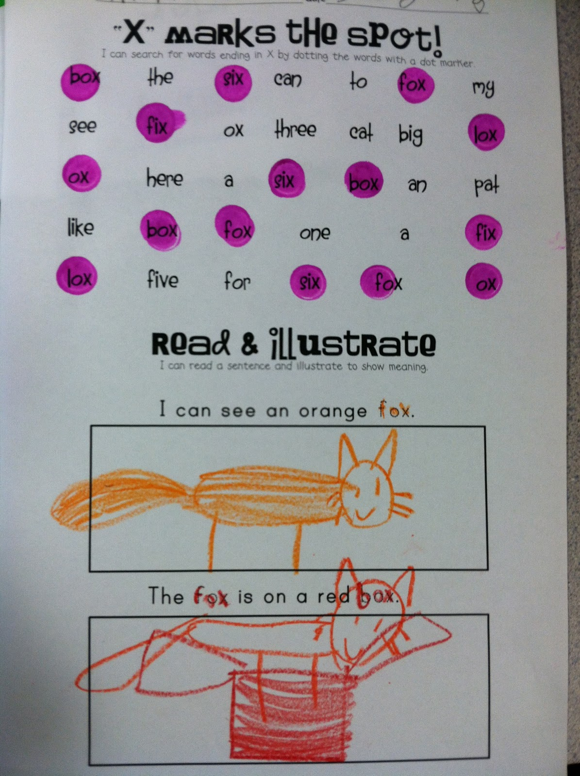 The Kinder Garden What We Re Up To This Week Literacy Centers Edition With A Freebie