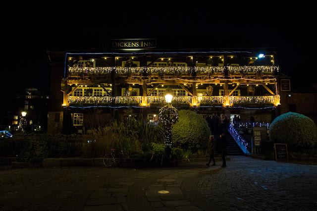 Dicken's Inn-St. Katharine docks-Londra