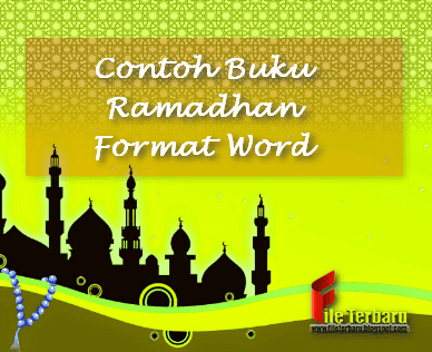 Contoh Buku Ramadhan Format Word