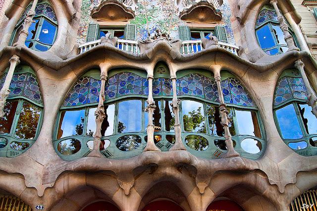 Casa Batllò de Gaudí em Barcelona