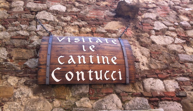 Cantina Contucci em Montepulciano