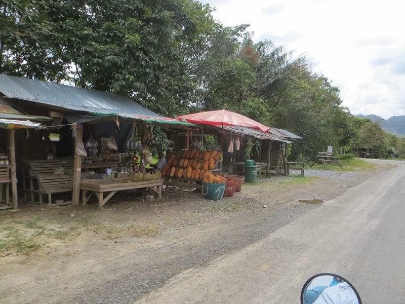 Продажа джекфрут, дуриан Таиланд