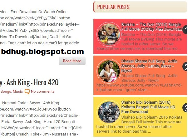 Stylish Popular Posts Widget for Blogger With Custom CSS3