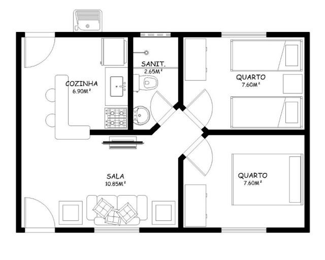 Simple house plan
