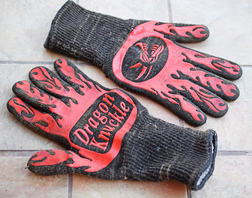 Dragon Knuckles heat-resistant grilling gloves review