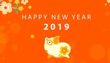 Chúc mừng năm mới AE Blogger - Xuân Kỷ Hợi 2019