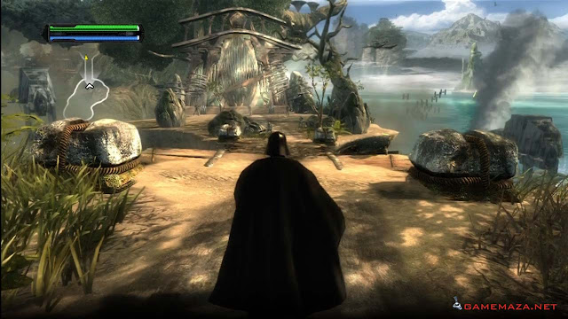 Star Wars The Force Unleashed Gameplay Screenshot 3